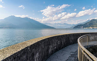 Photograph - Lake Como, Italy by Alexandre Rotenberg