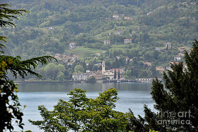Photograph - Lake Como View From Villa Carlotta Italy by Tanya Searcy