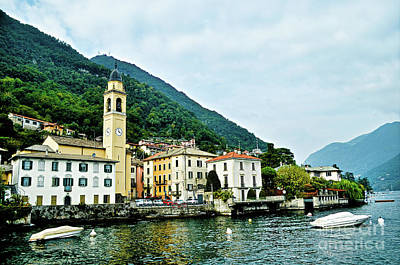 Photograph - Lake Como View by La Dolce Vita