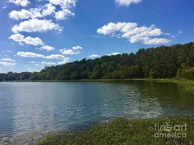 Photograph - Lake Conestee by Flavia Westerwelle