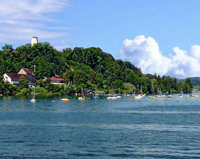 Photograph - Lake Constance by Anthony Dezenzio