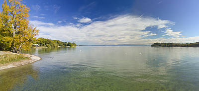 Photograph - Lake Constance by Marc Huebner