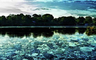 Digital Art - Lake Couchiching Stones by JGracey Stinson