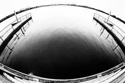 Photograph - Lake Crabtree Fisheye by Wade Brooks