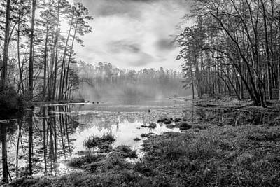 Photograph - Lake Crawford 01 Bw by Jim Dollar