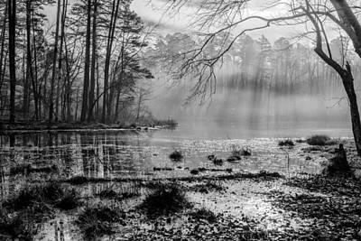 Photograph - Lake Crawford 02 Bw by Jim Dollar