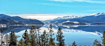 Lake Dillon Colorado Art Print by Stephen  Johnson