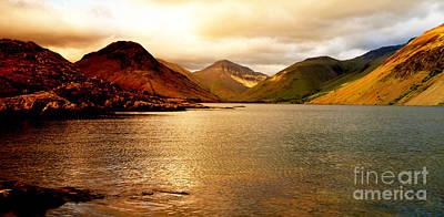 Lake District Cumbria Uk Print by Steven Brennan