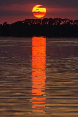 Digital Art - Lake Dora Sunset by Gene Norris