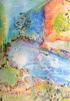 Painting - Lake  Dukan  by Judith Desrosiers