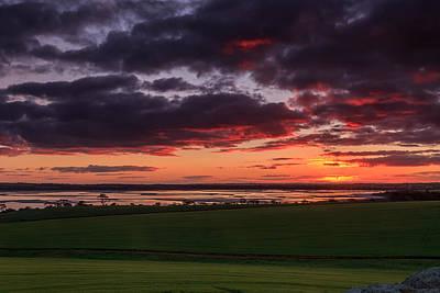 Lake Dumbleyung Sunset Art Print