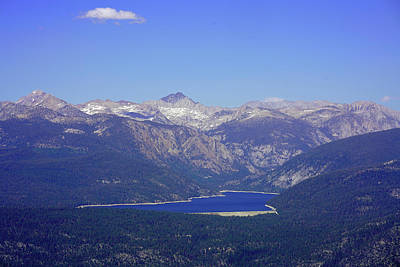 Photograph - Lake Edison From White Bark Vista by Dale Matson