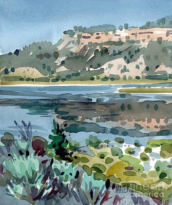 Painting - Lake El Vado by Donald Maier
