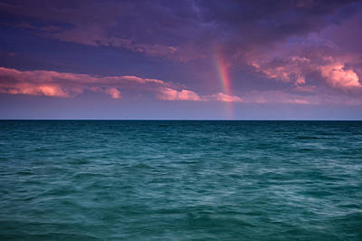 Lake Erie Wall Art - Photograph - Lake Erie Rainbow by Cale Best