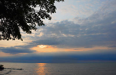 Photograph - Lake Erie Sunset by Lena Wilhite