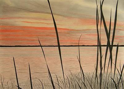 Lake Eustis Sunset Art Print