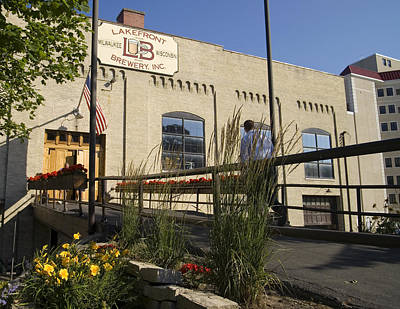 Photograph - Lake Front Brewery by Peter Skiba