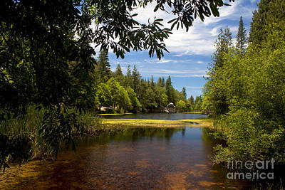 Lake Fulmor View Art Print by Ivete Basso Photography