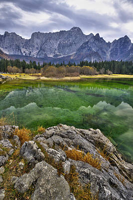 Photograph - Lake Fusine by Ivan Slosar