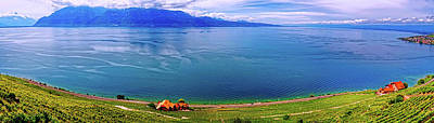 Photograph - Lake Geneva, Switzerland Panorama by Pixabay