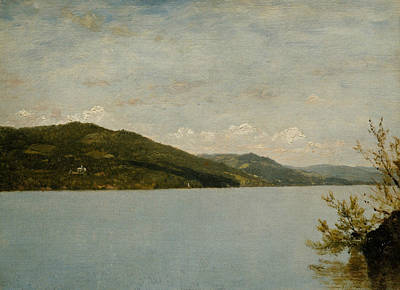 Painting - Lake George, 1872 by John Frederick Kensett