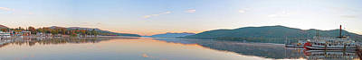 Photograph - Lake George 4 Panorama by Michelle McPhillips