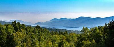 Lake George, Ny And The Adirondack Mountains Art Print
