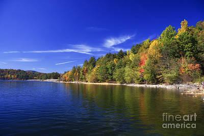 Photograph - Lake Glenville In North Carolina by Jill Lang