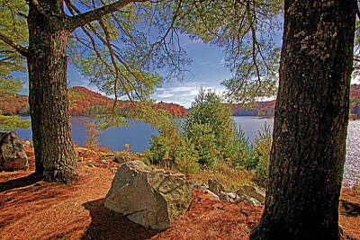 Photograph - Lake Glenville Nc - Thorpe Reservoir  by HH Photography of Florida