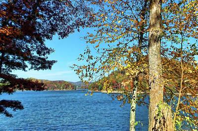 Photograph - Lake Glenville North Carolina by HH Photography of Florida
