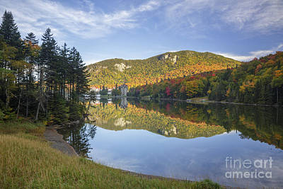 Photograph - Lake Gloriette - Dixville New Hampshire by Erin Paul Donovan