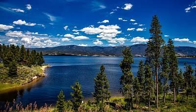 Lake Granby - Colorado Print by Mountain Dreams