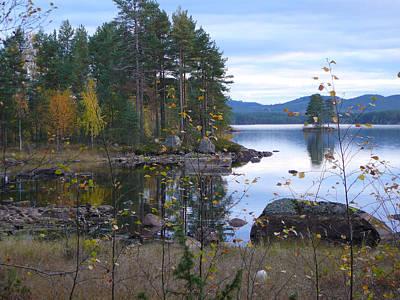 Adolf Photograph - Lake Gustav Adolf Sweden by Dagmar Batyahav