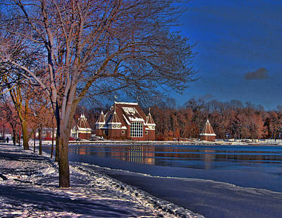 Lake Harriet Bandshell Art Print by Laurie Prentice