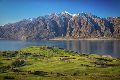 Photograph - Lake Hawea 2 by Martin Capek