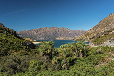 Photograph - Lake Hawea Approach, Otago by Gary Eason