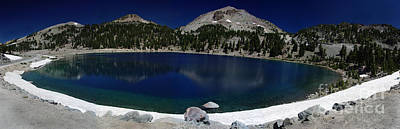 Photograph - Lake Helen Lassen  by Peter Piatt