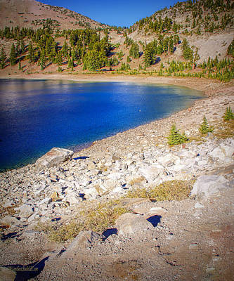 Photograph - Lake Helen Lassen Volcanic Park by LeeAnn McLaneGoetz McLaneGoetzStudioLLCcom