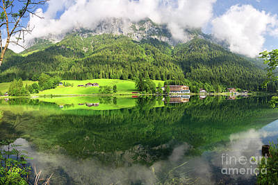 Photograph - Lake Hintersee by Yair Karelic