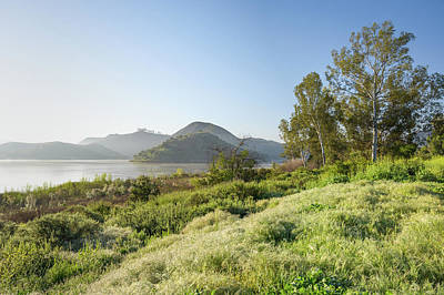 Photograph - Lake Hodges - Fletcher Point by Alexander Kunz