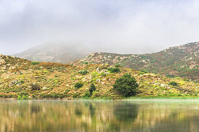 Photograph - Lake Hodges - June Morning by Alexander Kunz