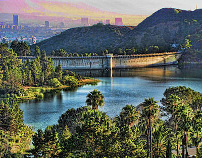 Lake Hollywood Art Print
