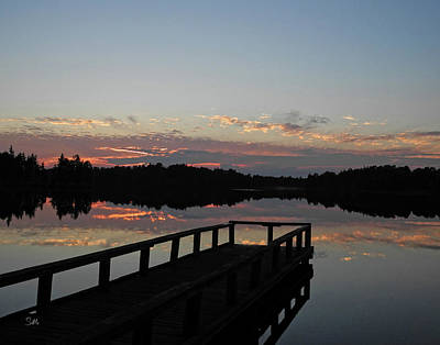 Photograph - Lake Horicon 6 by Sami Martin