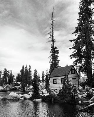 Ebbetts Pass Photograph - Lake House by Aaron James