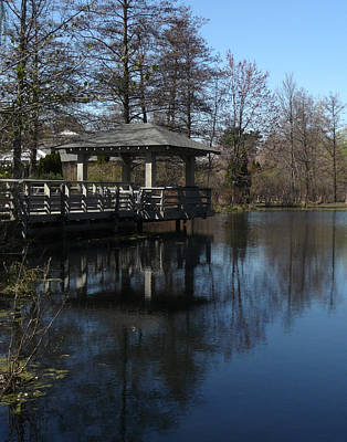 Photograph - Lake House Terrace by Margie Avellino