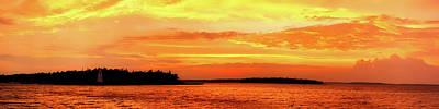 Photograph - Lake Huron At Sunset by Pixabay