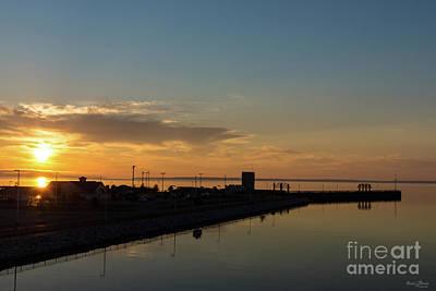 Photograph - Lake Huron Golden Morning by Jennifer White