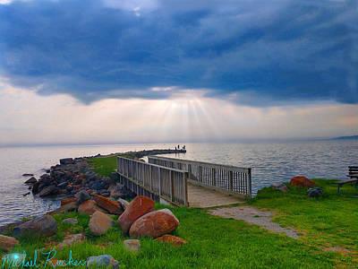 Photograph - Lake Huron Michigan by Michael Rucker