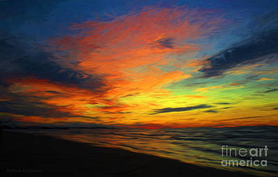 Photograph - Lake Huron Sundown by Barbara McMahon