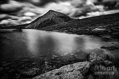 Photograph - Lake Idwal Snowdonia by Adrian Evans